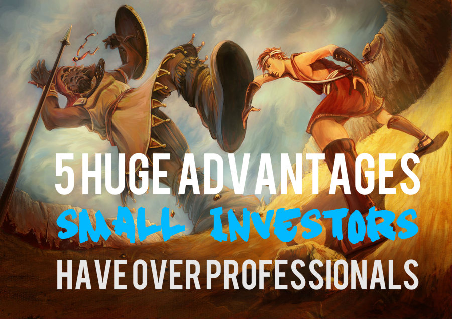 5 Advantages You Hold Over Professional Investors