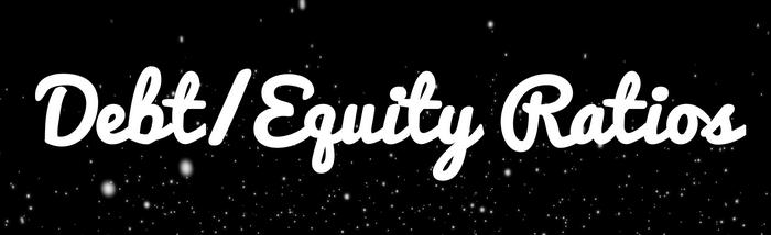 debt equity ratios
