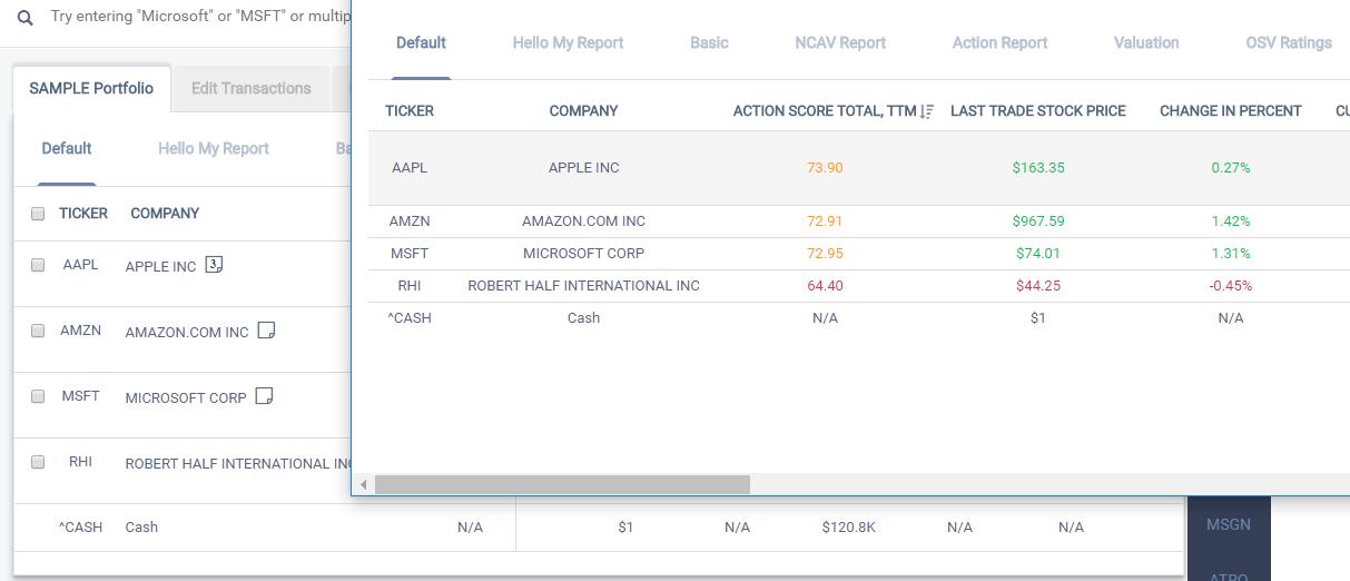 Full Screen Pop Up for Easier Data Analysis