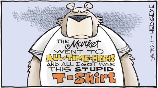 market stupid shirt