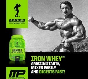 MusclePharm Arnold Schwarzenegger Series Supplements